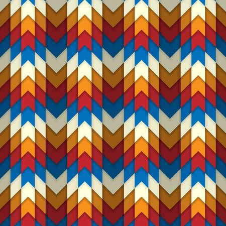Seamless abstract corners pattern