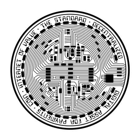 Crypto coin empty