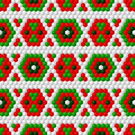 Hexagon color stripes wallpaper Vettoriali