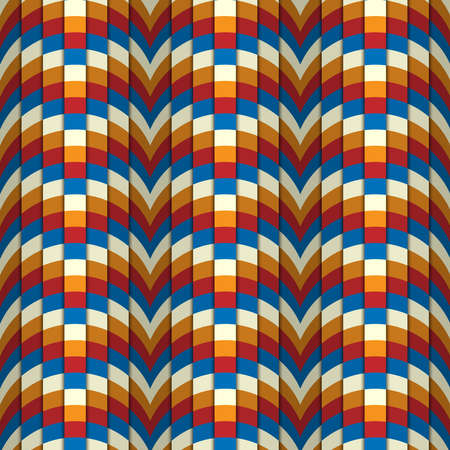 Abstract rectangle pattern