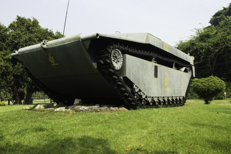 the amphibious: assault amphibious vehicle in the garden of history Editorial