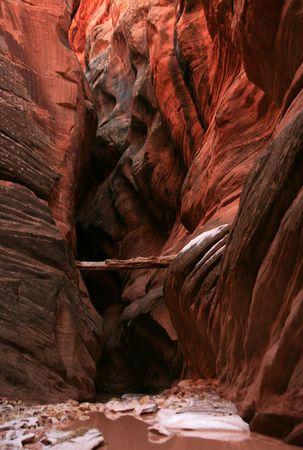 popular: Slot Canyon in popular Buckskin Gulch, Arizona Stock Photo