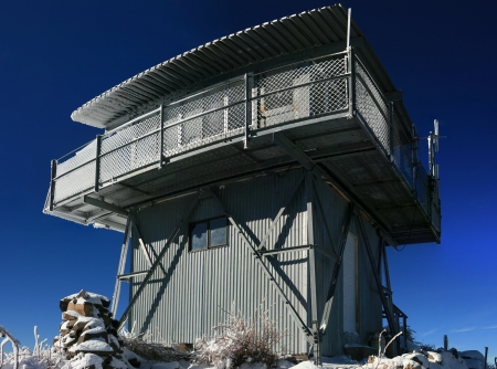 Fire Lookout Tower Stock Photo - 16835048