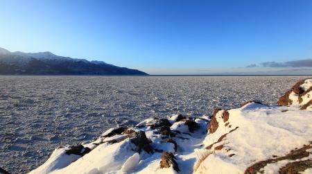 Frozen Sea Ice