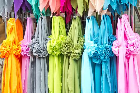 bufandas: Coloridas bufandas