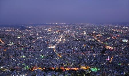 Citta 'di Damasco, capitale della Siria Archivio Fotografico - 22421841
