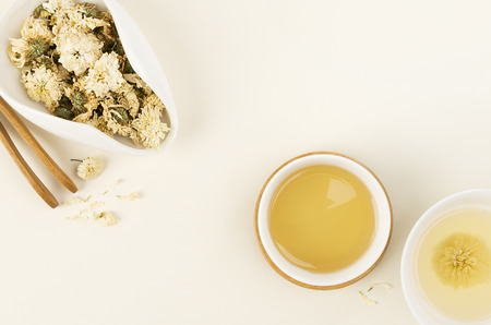 Herbal chrysanthemum tea