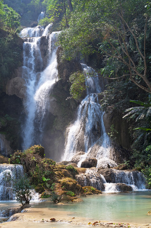 Tat Kuang Si waterfalls photo