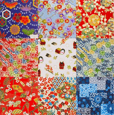 Japanse stijl papier textuur Stockfoto