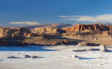 Valle della luna nel deserto di Atacama Archivio Fotografico - 35335959