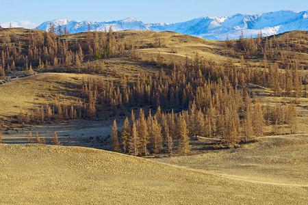 to altai: Altai highland Stock Photo