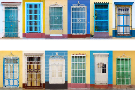 balcony window: Colonial architecture of Cuba, Trinidad windows
