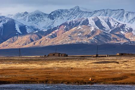 Paesaggio celeste mongolo Archivio Fotografico - 89997205