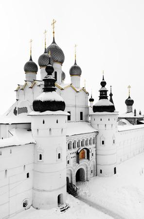 Medieval Kremlin of Rostov city Фото со стока