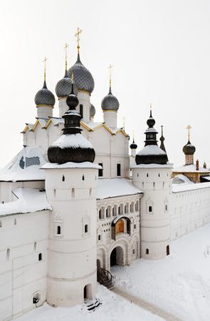 Medieval Kremlin of Rostov city Standard-Bild