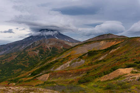 Vilyuchik is a stratovolcano in the southern part of Kamchatka Region, Russia. It is part of the national park. One of the most popular volcano located Kamchatka peninsula