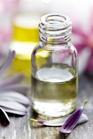 bottle of flower essence