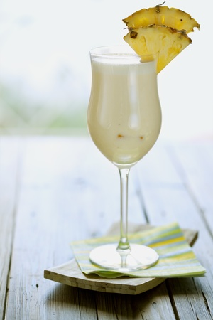 pina colada, styled contemporary Stock Photo - 8955395