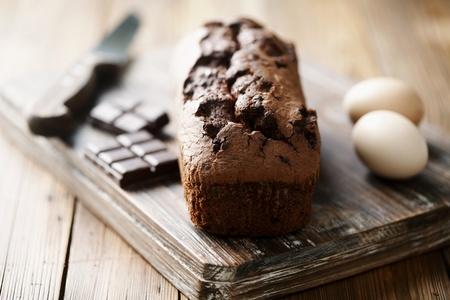 homemade chocolatea cake Banque d'images