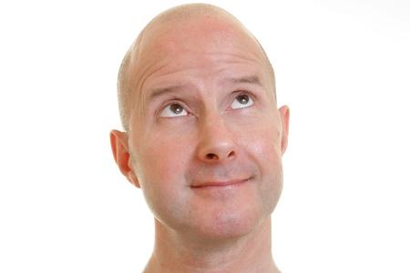 bald man photo