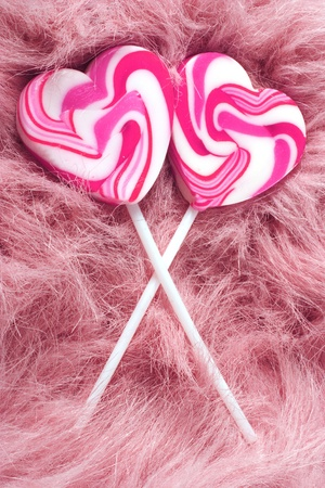 heart lollipops photo