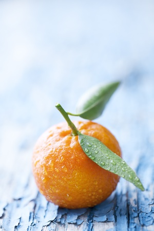 bowl of mandarins, they can also paa as oranges photo