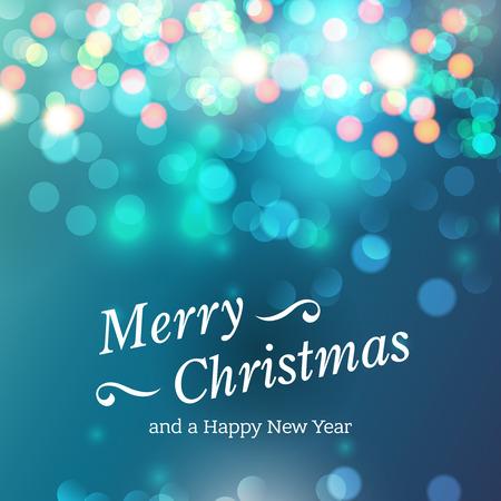felicidades: Tarjeta de Navidad con saludos y felicitaciones sparklesfestive