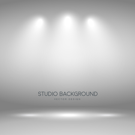 photography background: Photography studio background, light from the spotlights