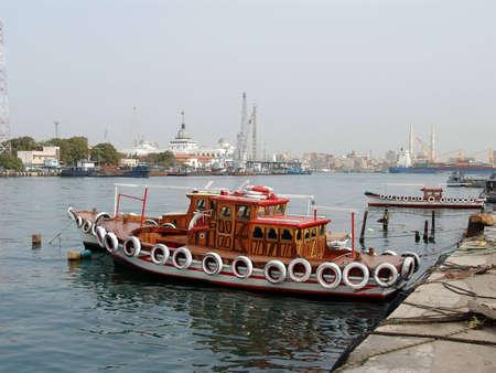 Suez canal view