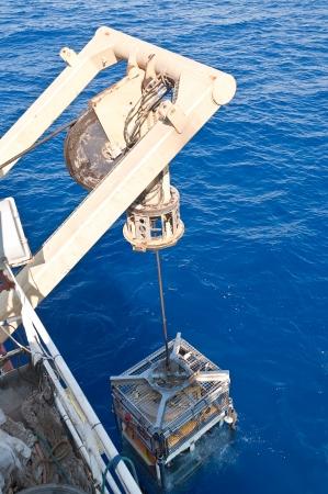 Sumergir de ROV (vehículo de operación remota) Panther para el funcionamiento encuesta Foto de archivo - 17764698