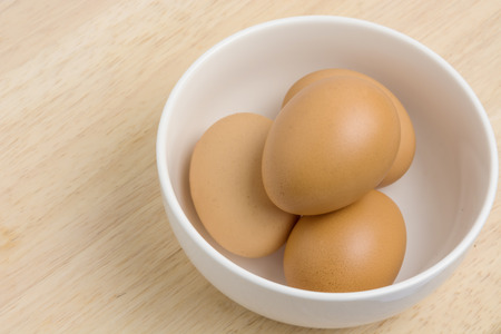 raw materials: The main raw materials Cooking eggs Stock Photo