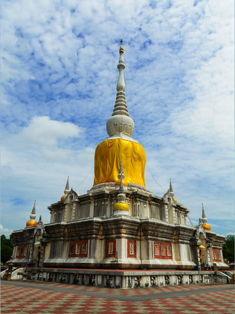 THE BUDDHAS RELIC CONTAIN INSIDETHE GREAT BUDDHIST PROVINCE OF ISAN [ NORTHEAST OF THAILAND ]