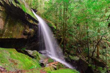 Tham Yai Waterfall at Phu Kradueng national park, Loei Thailand,