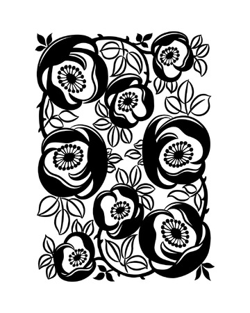 Save to a Lightbox â–¼    Find Similar Images    Share â–¼ Floral ornament, design element isolated on white background, vector illustration