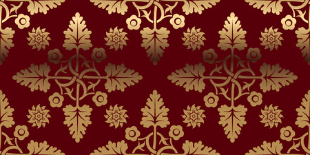 lustre: Luxurious card with gold pattern. Perfect for greetings, invitations and announcements. Vector file