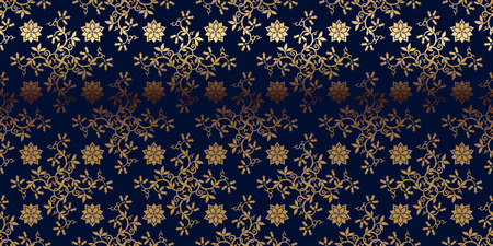 lustre: Vector card with gold pattern. Perfect for greetings, invitations and announcements.