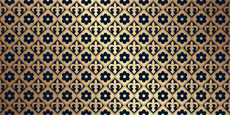 gold age: Vector card with a gold pattern. Design elements in a gothic style. Perfect for greetings, invitations and announcements. Vector file