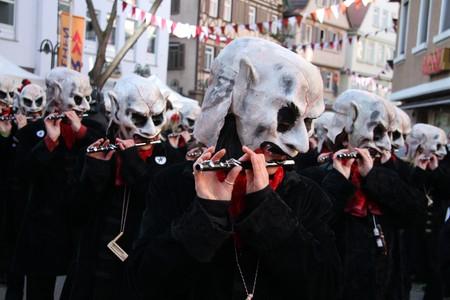 fasnet: Carnival, Bad Cannstatt, Germany