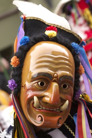 Carnival, Rottweil, Germany Stock Photo