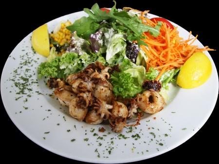 salad -  seafood