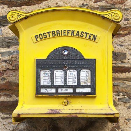 Letterbox Stock Photo