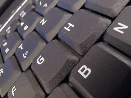 operating key: Keyboard of a computer
