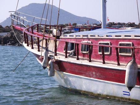sailboat in Turkey Bodrum