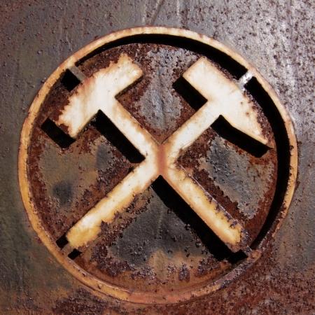 Ancien symbole de mines - Allemagne