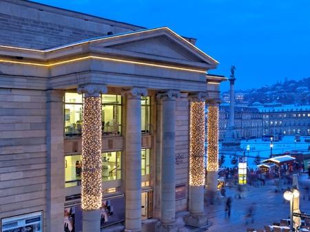 Christmas market in Stuttgart, Germany