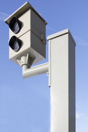 Radar system with speed cameras for traffic control