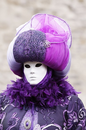 Venice Carnival Costumes Stock Photo - 9072771