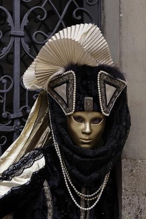 Venice Carnival Costumes Stock Photo - 9072796