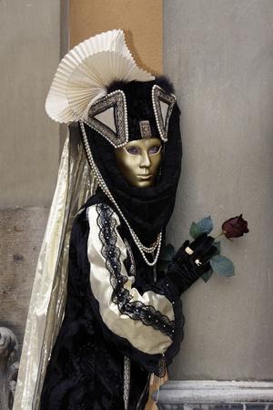 Venice Carnival Costumes Stock Photo - 9072781