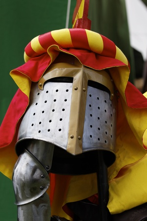 Battle armor of knights photo